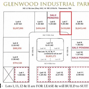 Site Plan Lot 7 FS