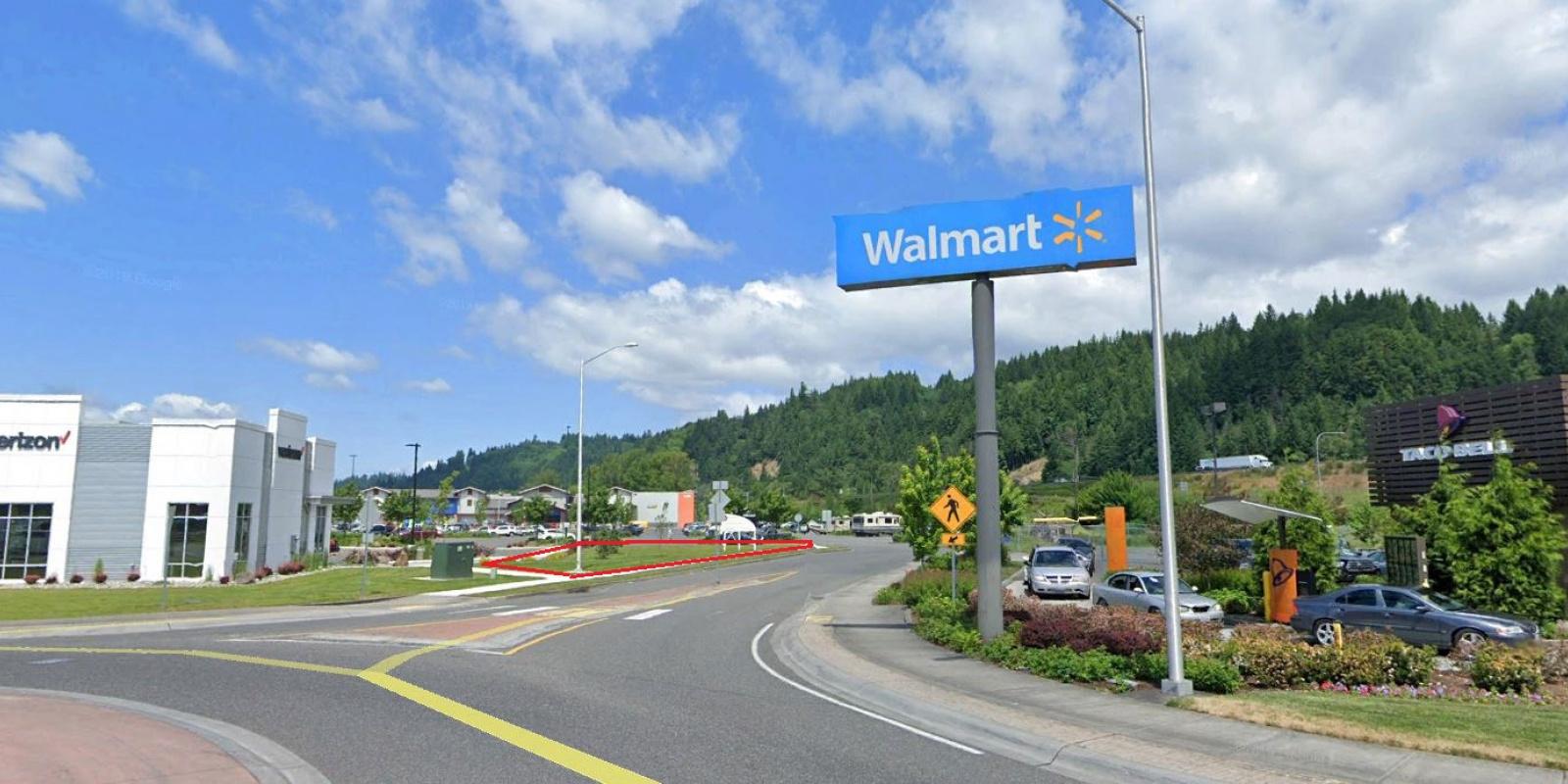 .22 AC CH  WalMart Entrance Woodland
