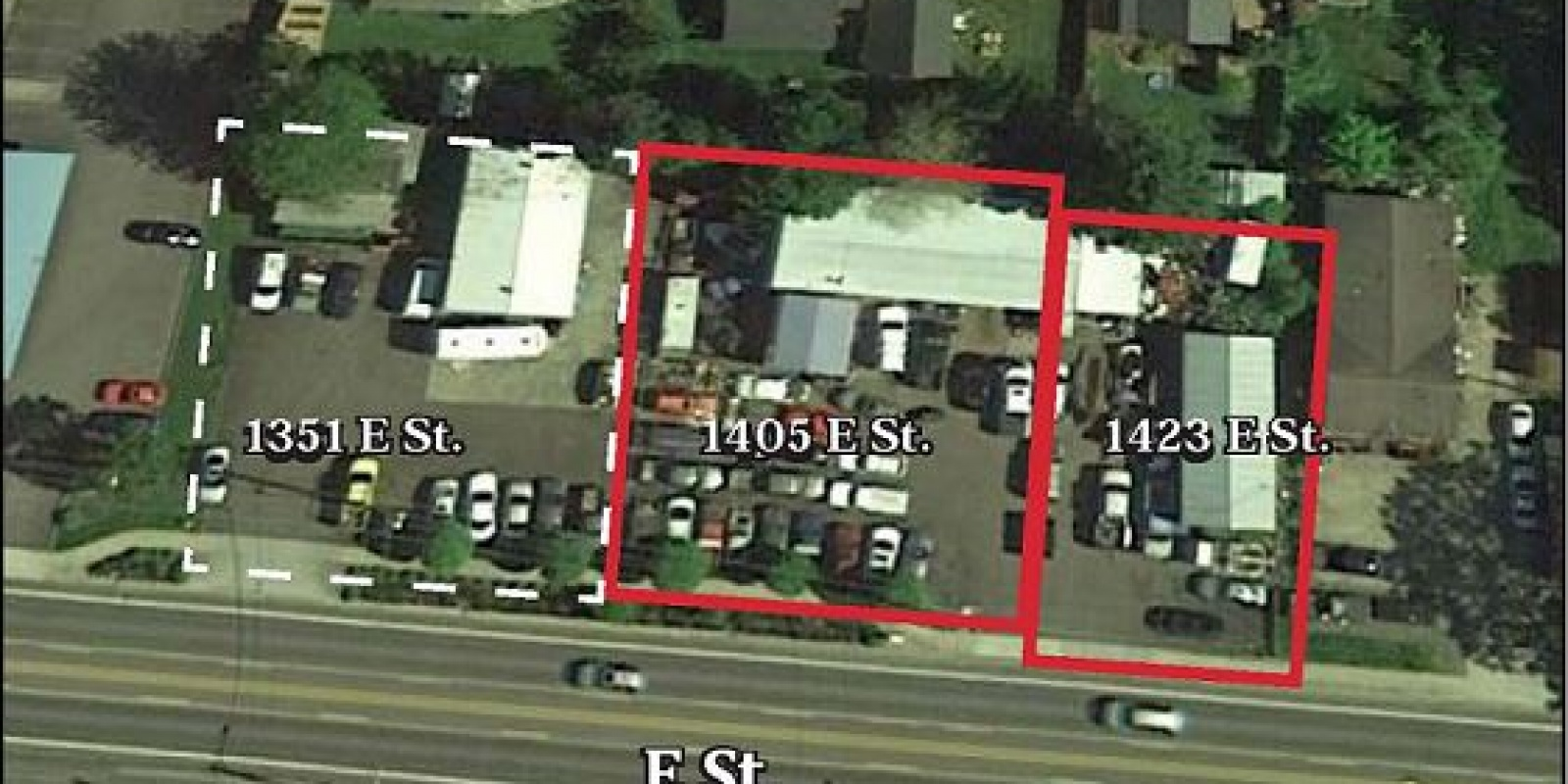 .36 AC 2 Commercial Lots w/ Bldgs