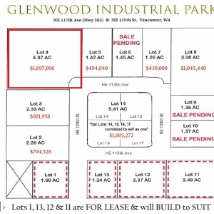 Lot 4 Glenwood Industrial Park