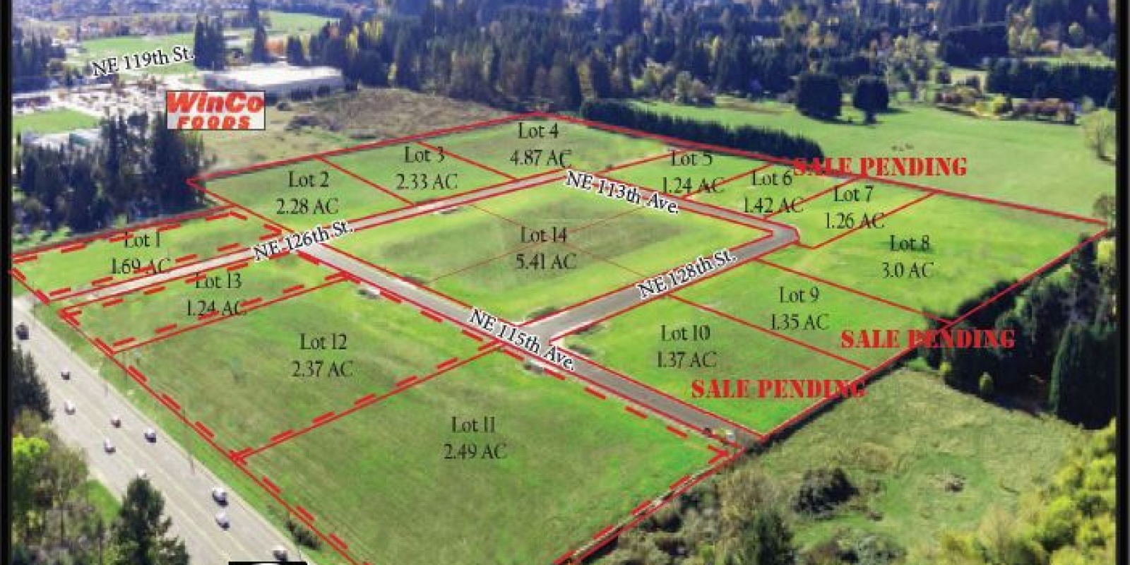 NE 117th Ave & 125th St. Vancouver, WA 98662, ,Land,For Sale,Glenwood Industrial Park,NE 117th Ave & 125th St. Vancouver, WA 98662,1251