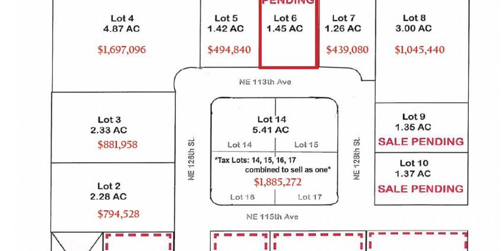 NE 117th Ave & 125th St. Vancouver, WA 98662, ,Land,For Sale,Glenwood Industrial Park,NE 117th Ave & 125th St. Vancouver, WA 98662,1252