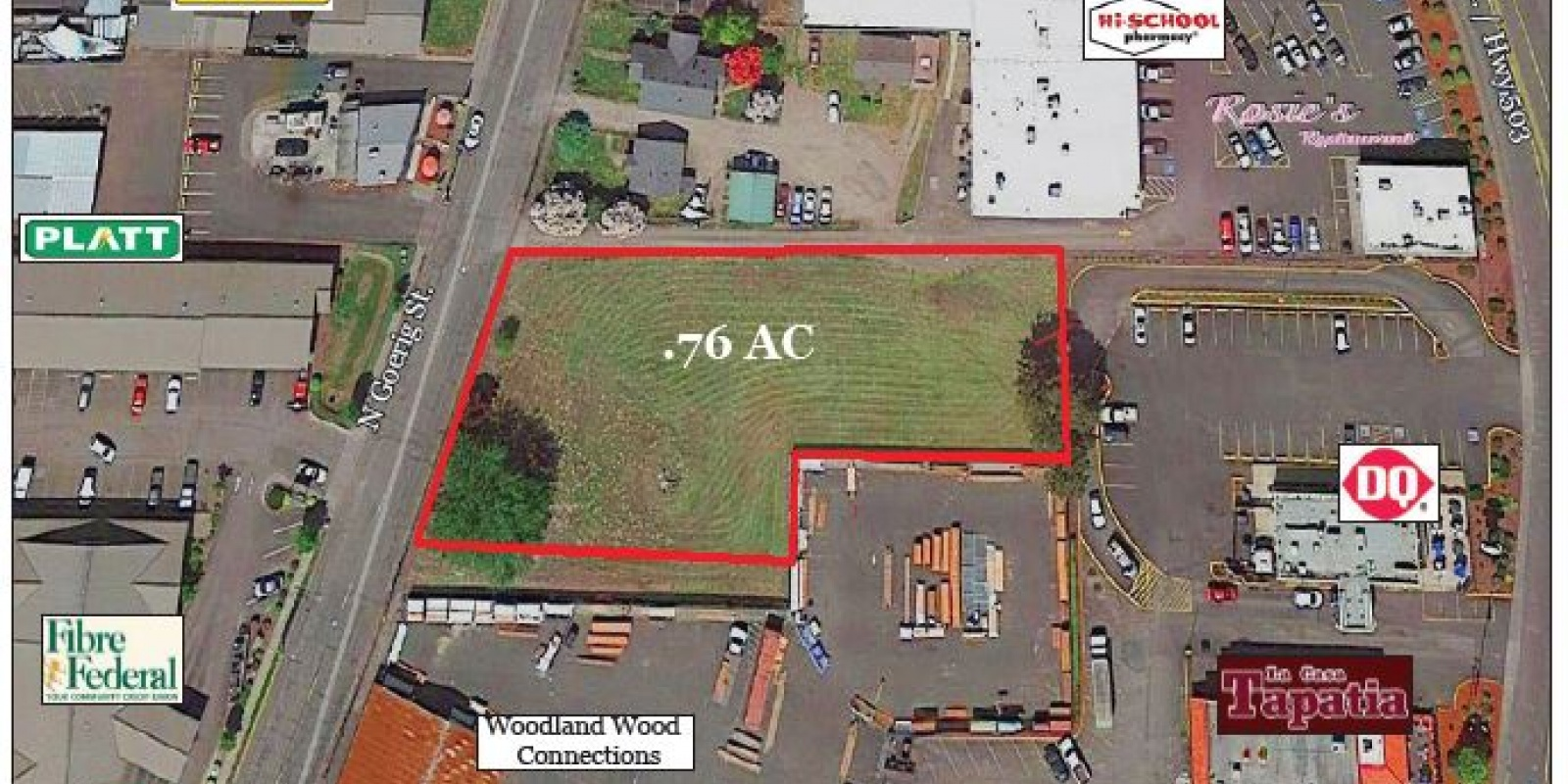 .76 AC Hwy Commercial I-5 Exit 21