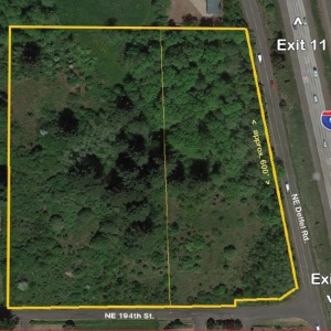 7.82 AC Industrial I-5 Frontage